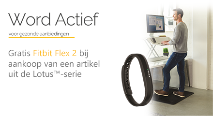 Fellowes Lotus Free FitBit Promotion 2019