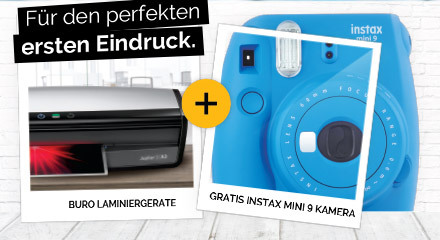 Fellowes Instax camera delivery promotion 2019