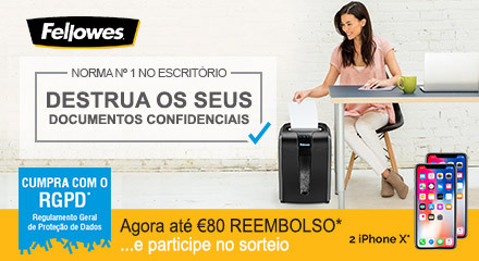 Fellowes Shredder Cashback Q4 2018