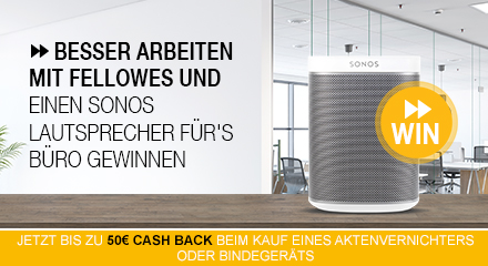 Fellowes Shredder Cashback + Sweepstake Q2 2019