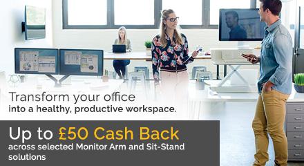 Fellowes Workspace Management Cash Back Promotion 2018