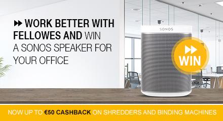 Fellowes Shredder Cashback + Sweepstake Q2 2019
