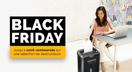 Fellowes Black Friday Cashback Promotion