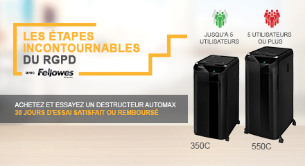 Fellowes AutoMax Buy and Try Promotion
